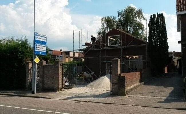 Metselwerk garage te Venlo